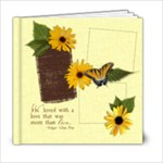 6x6 Secret Garden Album - 6x6 Photo Book (20 pages)