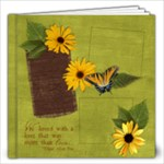 12x12 Secret Garden/ Love Album - 12x12 Photo Book (20 pages)