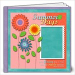 12x12 Flowers Album - 12x12 Photo Book (20 pages)