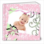 pink elegance templarte book - 8x8 Photo Book (30 pages)