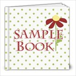sample book picnic punch free kit this week - 8x8 Photo Book (20 pages)