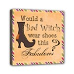 halloween decorative wall art1 - Mini Canvas 6  x 6  (Stretched)