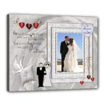 Wedding 20x16 Stretched Canvas - Canvas 20  x 16  (Stretched)