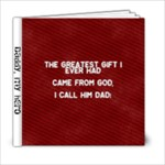 Daddy s My Hero - 6x6 Photo Book (20 pages)