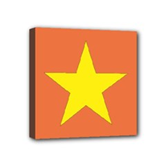 Flag_Vietnam Mini Canvas 4  x 4  (Stretched)