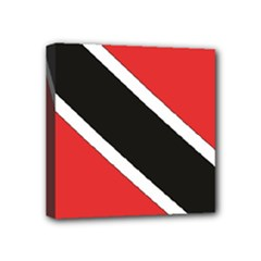Flag_Trinidad & Tobago Mini Canvas 4  x 4  (Stretched)
