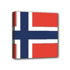Flag_Norway Mini Canvas 4  x 4  (Stretched)