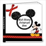 autograph book - 8x8 Photo Book (20 pages)