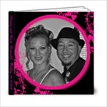 Funky Fuscia 6 x 6 album Wedding 2010 - 6x6 Photo Book (20 pages)