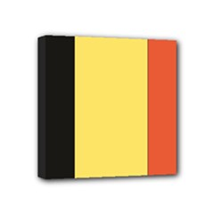 Flag_Belgium Mini Canvas 4  x 4  (Stretched)