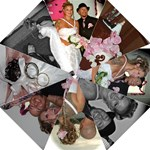 Tommy & Carrie Wedding / Umbrella  - Folding Umbrella