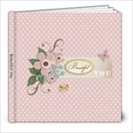 Beautiful YOU- 8 x 8 template - 8x8 Photo Book (20 pages)