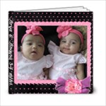 Arya & Anaysa 3-4mths - 6x6 Photo Book (20 pages)