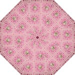 Pink Lace Umbrella - Folding Umbrella