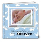 Baby blue 8x8 - 8x8 Photo Book (20 pages)