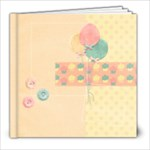 8x8 Birthday Album - 8x8 Photo Book (20 pages)