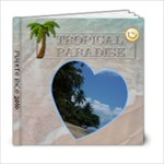 Tropical Paradise Vacation 6x6 Photo Book PR - 6x6 Photo Book (20 pages)