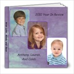 Christmas 2010 Books - 8x8 Photo Book (39 pages)