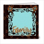 family template book 6x6 - 6x6 Photo Book (20 pages)
