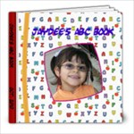Jaydee ABC Book * - 8x8 Photo Book (30 pages)