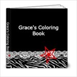 grace s coloring book - 6x6 Photo Book (20 pages)