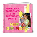 Birthday Girl - 6x6 Photo Book (20 pages)