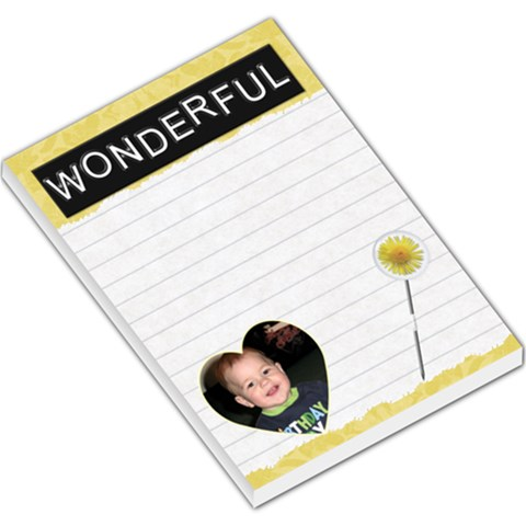 Wonderful Large Memo Pad By Lil    Large Memo Pads   40q1g0qt6o0a   Www Artscow Com