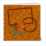 6x6 Autumn Frolic Album - 6x6 Photo Book (20 pages)