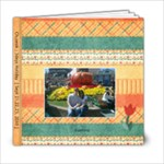6x6 Tiptoe through the Tulips Album- template - 6x6 Photo Book (20 pages)