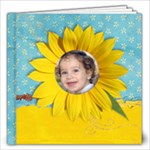 12x12 Summer/Sunflower Album - 12x12 Photo Book (20 pages)