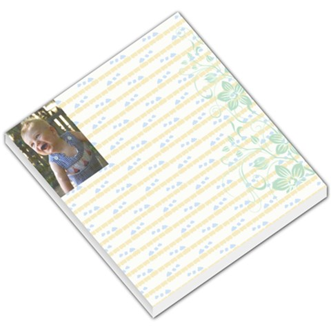 Keegan Notepad By Meaghan Clayton   Small Memo Pads   Wf2v8htwdwta   Www Artscow Com