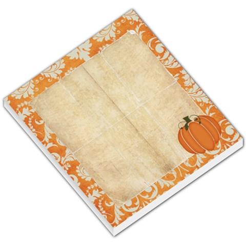 Autumn Memo Pad By Sheena   Small Memo Pads   7e0lqplgxdye   Www Artscow Com