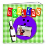 Bowling adventure template book - 8x8 Photo Book (20 pages)
