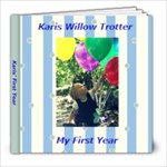 Karis  First Year - 8x8 Photo Book (20 pages)
