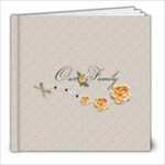 8 x 8 - template Our Family - 8x8 Photo Book (20 pages)