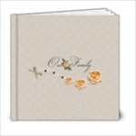 6 x 6 - template Our Family - 6x6 Photo Book (20 pages)