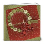 6x6 Holiday Album - 6x6 Photo Book (20 pages)