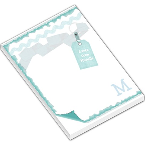 A Note From Mich By Michelle   Large Memo Pads   Viqaevala59q   Www Artscow Com