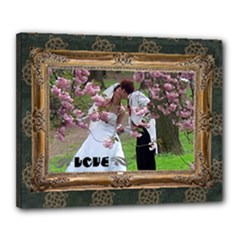 "LOVE  -  16"" x 20"" stretched canvas - Canvas 20  x 16  (Stretched)"