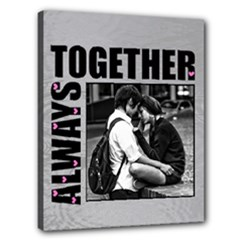"ALWAYS TOGETHER - 16"" x 20"" stretched canvas - Canvas 20  x 16  (Stretched)"