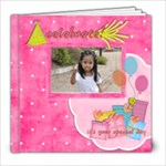 8x8 39 pages birthday girl - 8x8 Photo Book (39 pages)