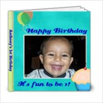 Tony s 1st bday book - 6x6 Photo Book (20 pages)