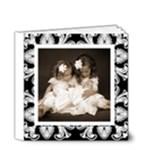 Art Nouveau Classic black & White album 4 x 4 20 page - 4x4 Deluxe Photo Book (20 pages)