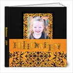 Mahalia Halloween - 8x8 Photo Book (20 pages)