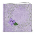 Violets 6x6 Book - 6x6 Photo Book (20 pages)