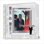 James & Gina Wedding - 6x6 Photo Book (20 pages)
