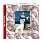 baseball 6x6 photo book - 6x6 Photo Book (20 pages)