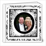 Fantasia Perfect Day Monochrome Wedding 8 x 8 30 page - 8x8 Photo Book (30 pages)