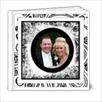 Fantasia Perfect Day Monochrome Wedding 6 x 6 20 page - 6x6 Photo Book (20 pages)