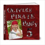 Pirate Party - 6x6 Photo Book (20 pages)